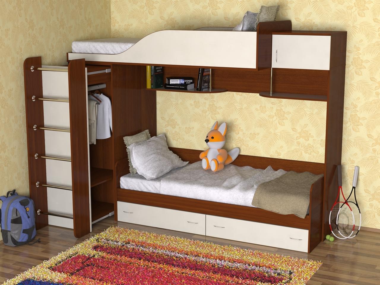 Мебель двухъярусные кровати фото